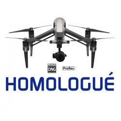 DJI Inspire 2 Combo homologué S1 S2 S3