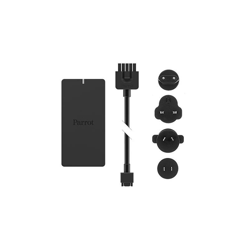 Chargeur, câble et plugs (x4) pour Parrot Disco