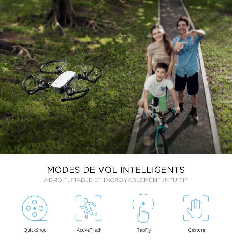 Modes de vol intelligent DJI Spark