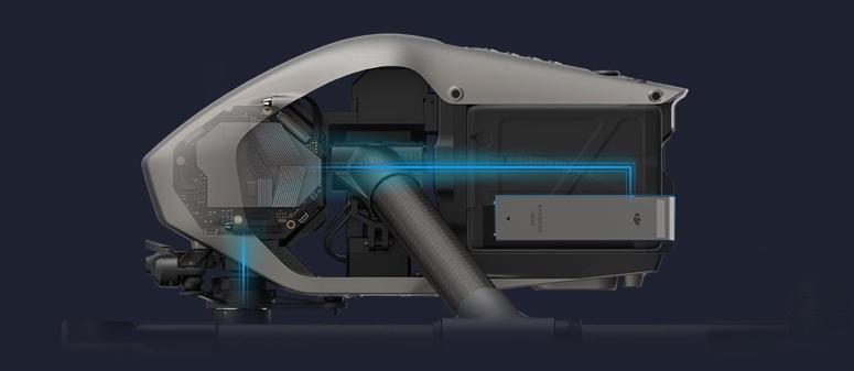 drone Inspire 2 marque DJI