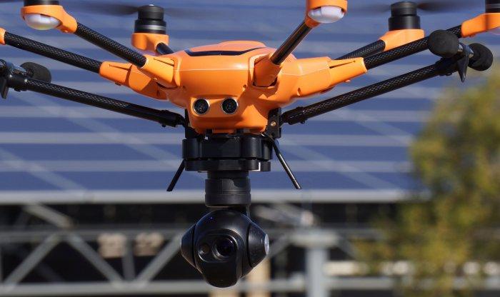 Drone H520 Yuneec en vol