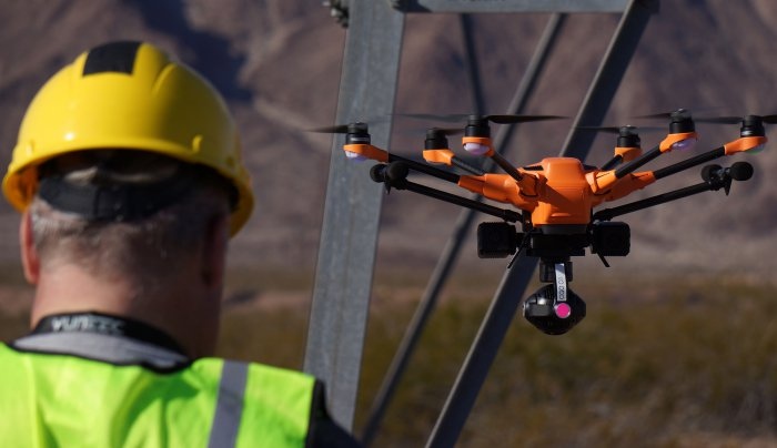 Pilotage drone Yuneec h520