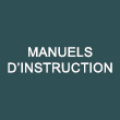 Manuels d'instruction