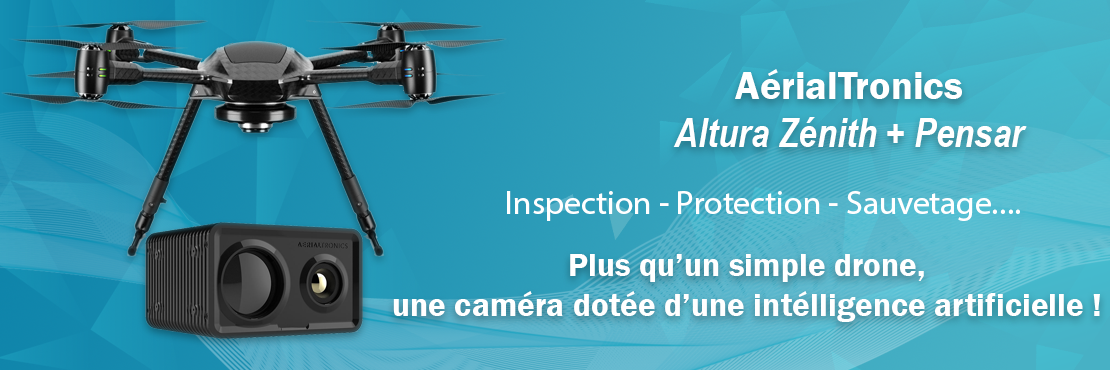 AerialTronics Altura Zenith et Pensar