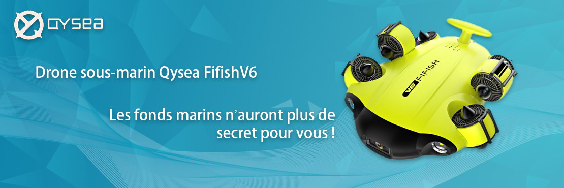 Drone sous marin Qysea Fifish